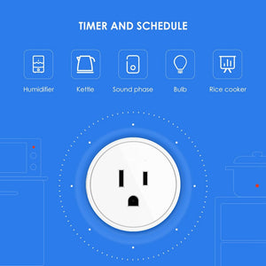 Buy two free shipping,【U.S. Edition】Wifi phone switch timing plug