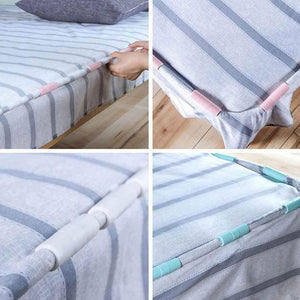 【Hot Sale】10 Pcs Bed Sheet Clip CLIP FOR FIXING SHEETS
