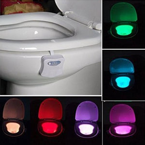 【20% off】8 color toilet LED night light