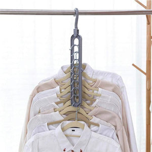 【50% OFF TODAY】porous design multi-purpose hanger