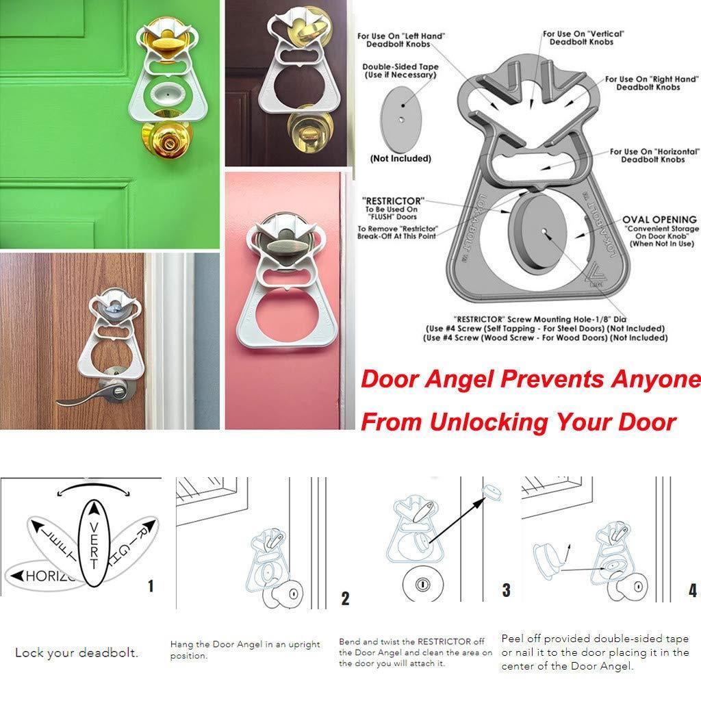 【50 OFF】The Door Angel - Anti-Bumping  Security Lock