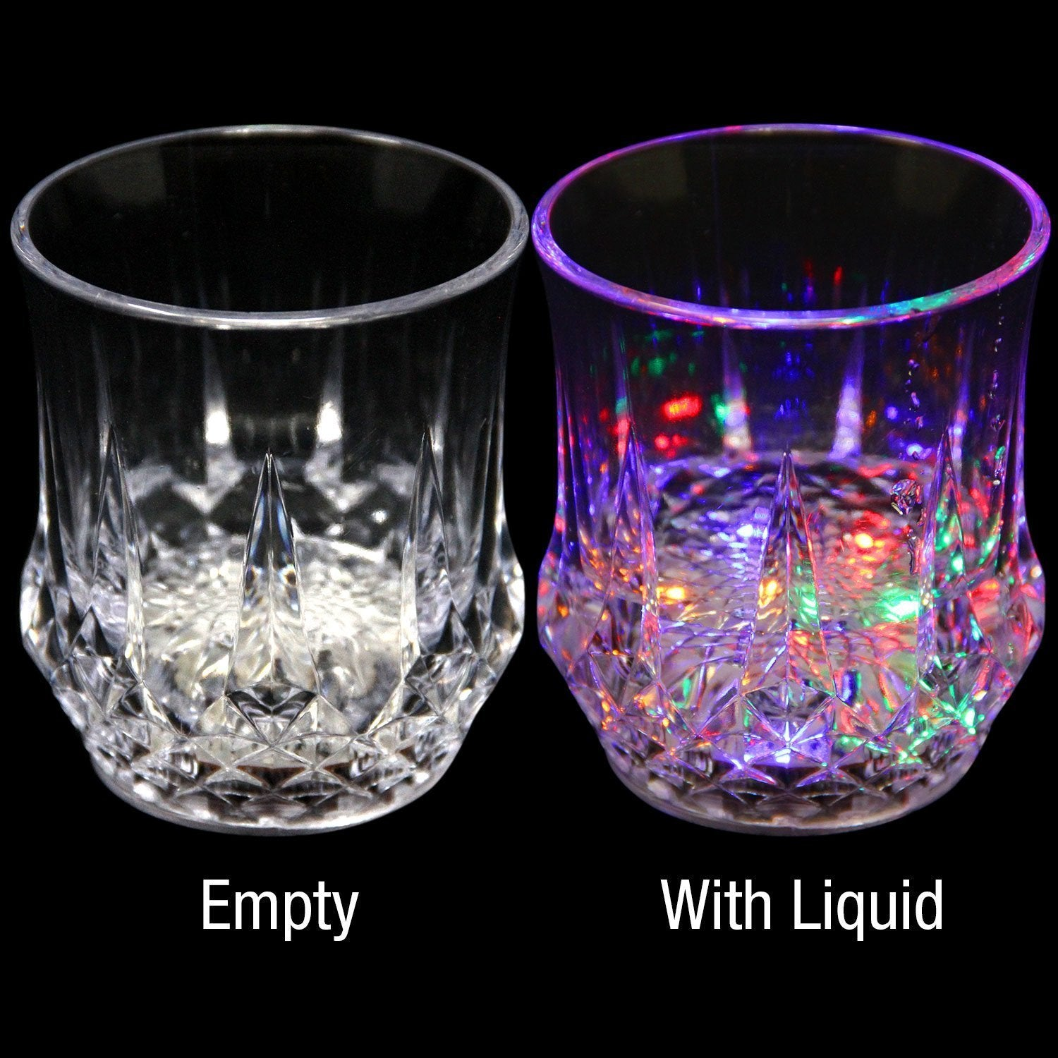 [50% OFF today!]-Liquid Activated Multicolor LED Glasses