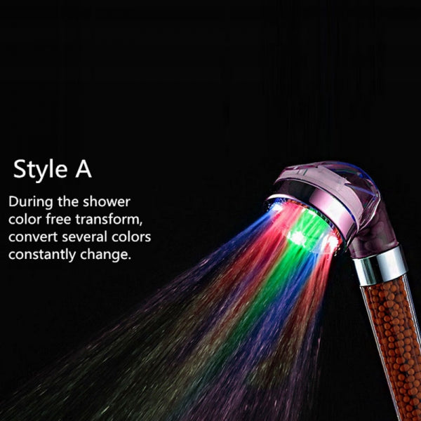 【TODAY 50% OFF】Anion LED Shower Heads
