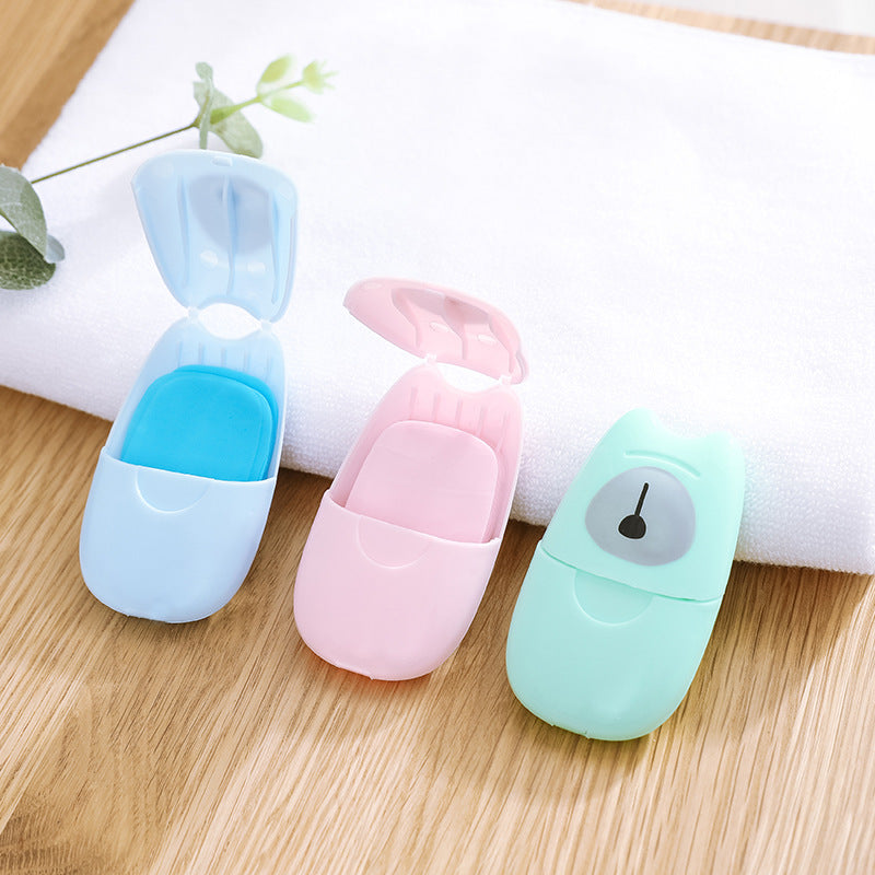 【Hot Sale】Portable Travel Washing Soap Sheets