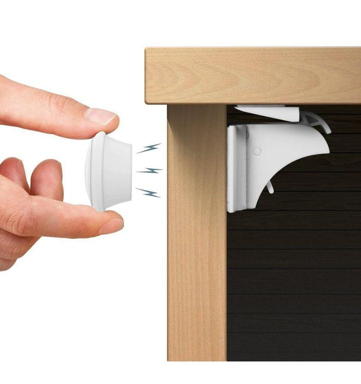 【Hot Sale】FABE™ Magnetic Children Safety Protection Cabinet Door Lock. 50% OFF ONLY TODAY!