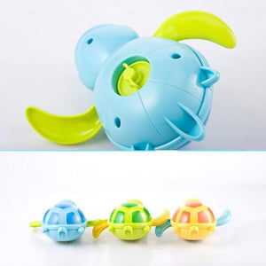 【Hot Sale】Baby Bath Toy New Born Babies Swim Turtle Wound-up Chain Small Animal Children Classic Toys