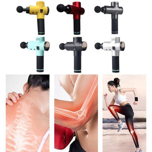 (Last Day 70% OFF) 4 In One,Relieving Pain,3 Speed Setting Body Deep Muscle Massager