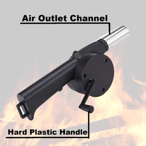【Hot Sale】Handheld BBQ Air Blower. 50% off only today