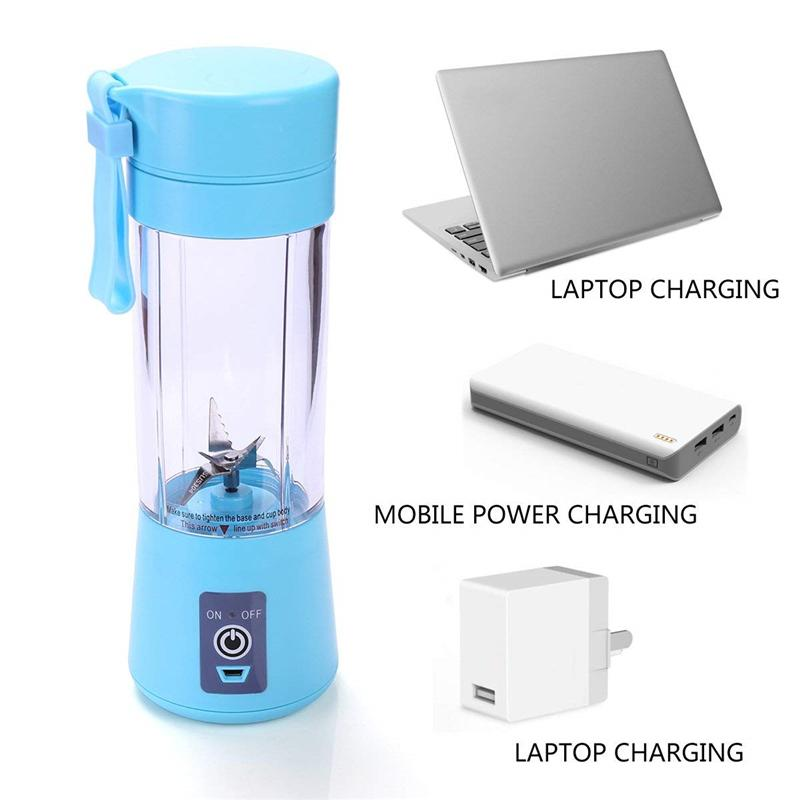【Hot Sale】PORTABLE USB RECHARGEABLE TRAVEL JUICER