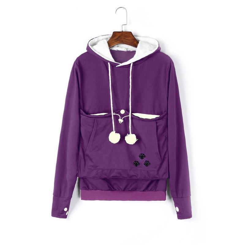 Pickmy™ Cat Hoodie With Kangaroo Pouch - 70% OFF TODAY
