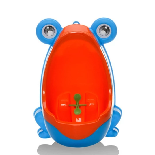 Baby Boy Wall-Mounted Frog Potty