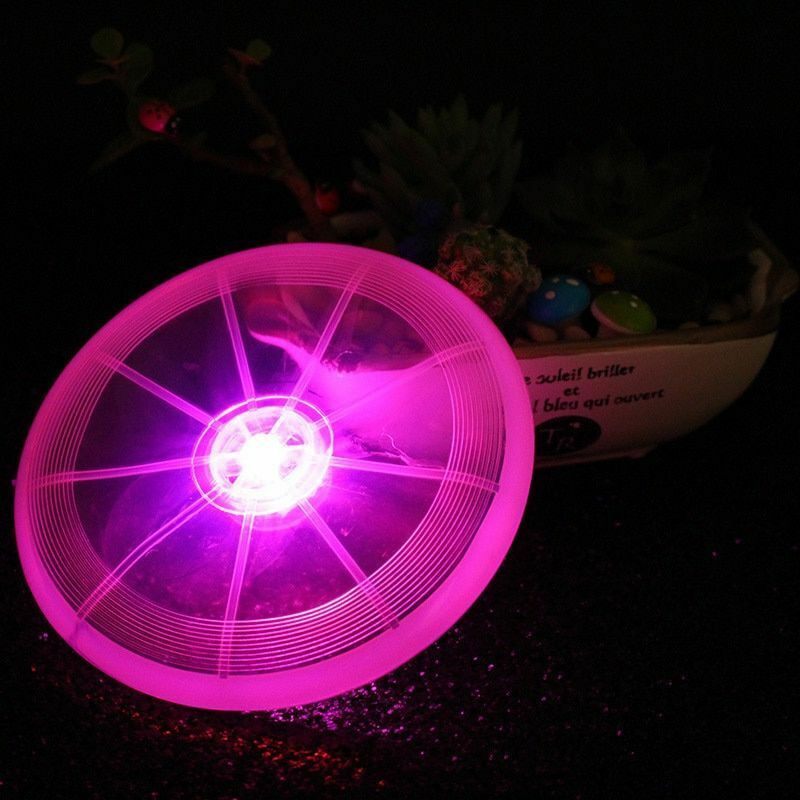(OFF 70% TODAY)LED Frisbee Outdoor Night Luminous Toy
