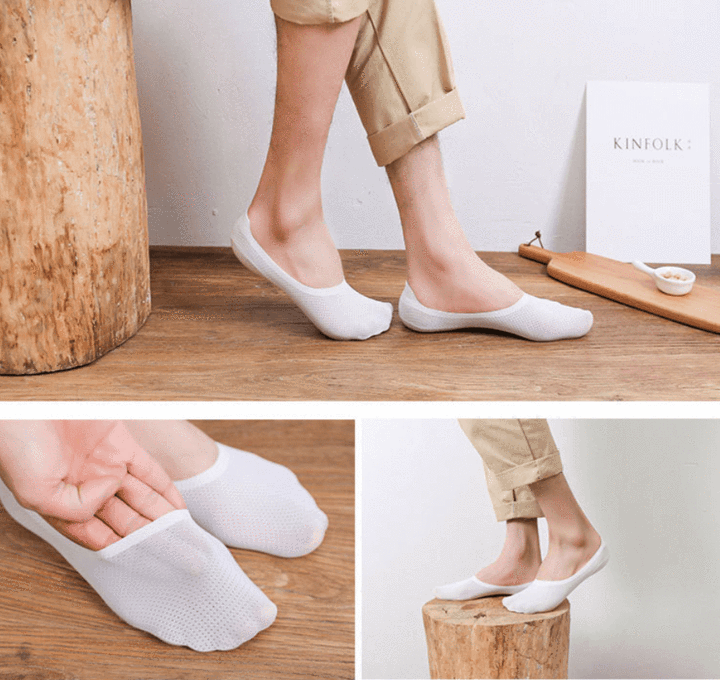 BREATHABLE ICE SILK SOCKS 【HOT SALE】