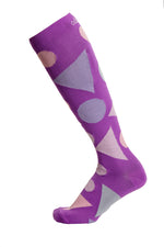 Pinball Zing Compression Socks (15-20mmHg) - just below the knee