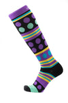 Perpel Polka Compression Socks (15-20mmHg) - just below the knee