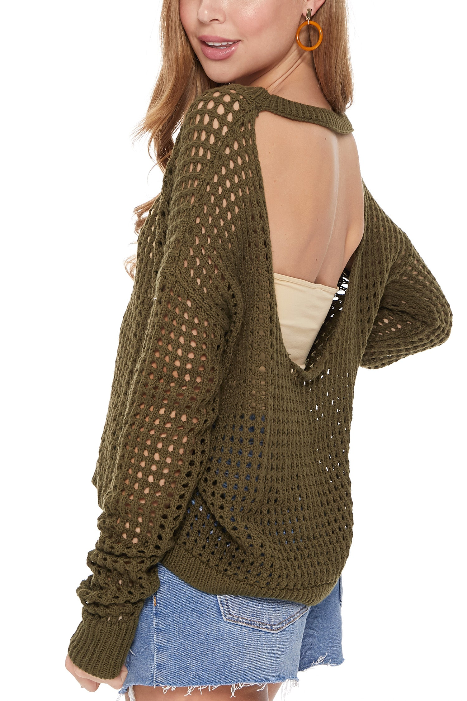 Lauren Sweater in Olive