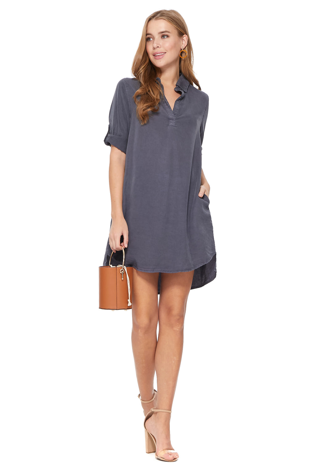 Nova Dress in Grey