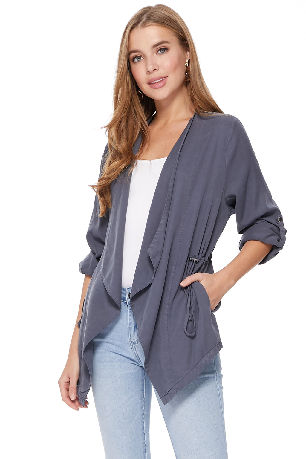 Paula Jacket in Grey