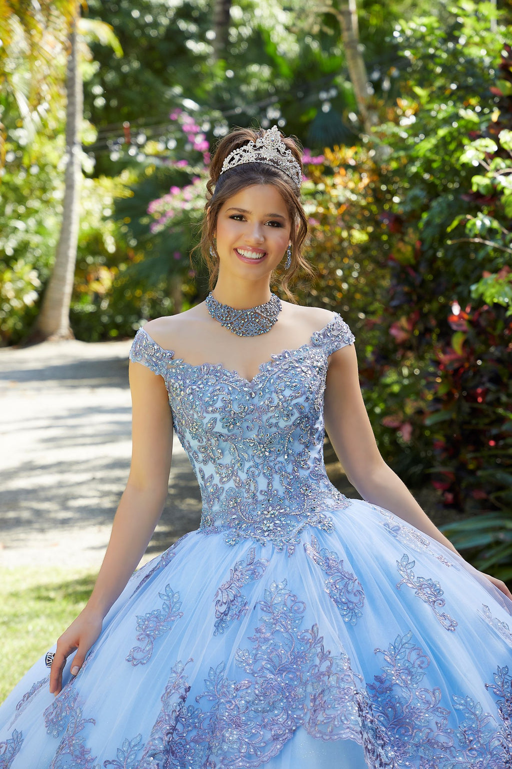 Alison on a Crystal Beaded - MoriLee #89294