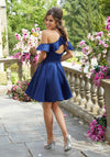 Ashley on a Crystal Beaded Satin - MoriLee #9539