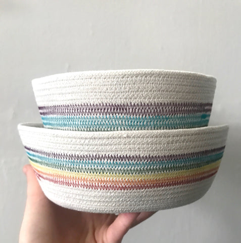Retro Rainbow Bucket