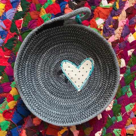 Scrappy Heart Bowl