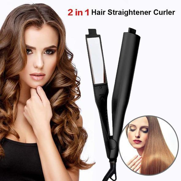 90%OFF🔥2 In 1 Twist Straightening Curling Iron