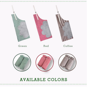Last Promotion 30% OFF Today---Erasable Hand Waterproof Kitchen Apron