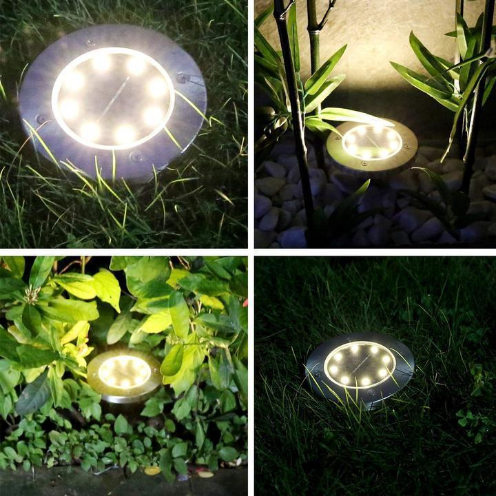 $9.99,ONLY FOR TODAY -Solar LED Disk Lights
