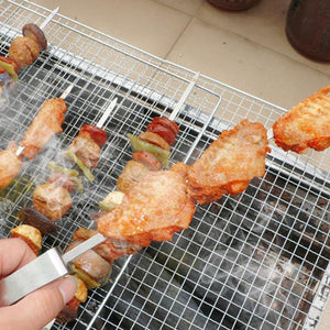 (Buy 10 pcs enjoys free shipping)Stainless Steel BBQ Skewers