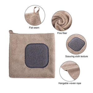 2 in 1 Multifunctional Scouring Pad