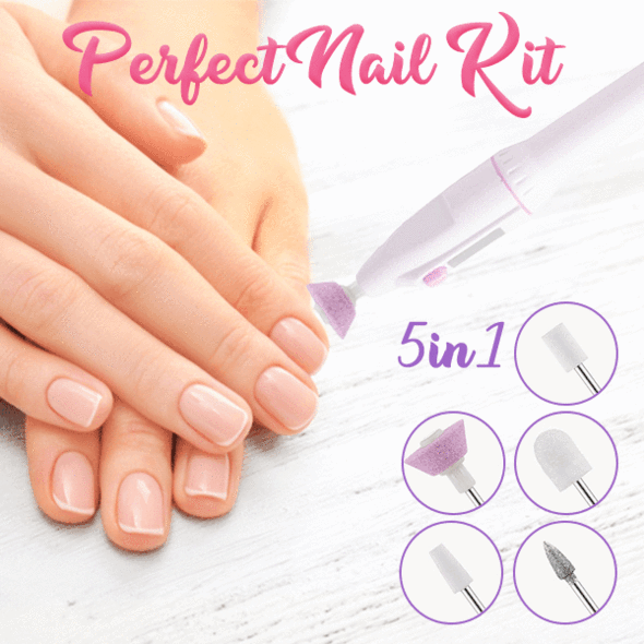 50%OFF💥5 In 1 Perfect Nail Kit
