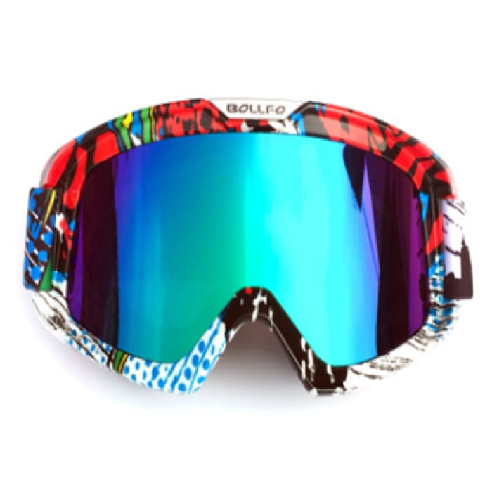 Knight Cross-Country Goggles - Blue / Multicolor - Men