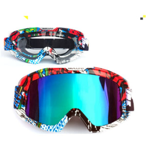 Knight Cross-Country Goggles - Blue / Multicolor+Transparent - Men