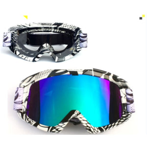Knight Cross-Country Goggles - Serpentine / Multicolor+Transparent - Men