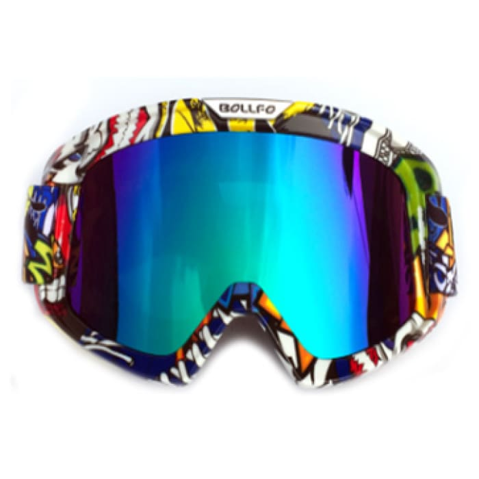Knight Cross-Country Goggles - Yellow / Multicolor - Men