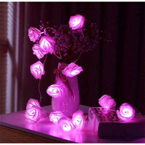 Led Rose Light String