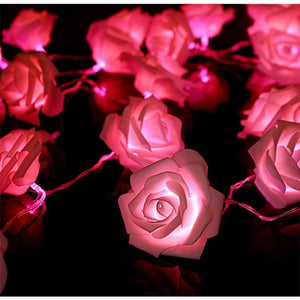 Led Rose Light String - Red / 1.5M·10 Lights / 1Pc