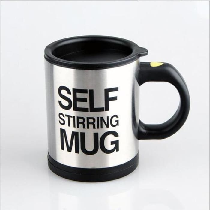 Self Stirring Mug - Black / 1Pcs - Boutique