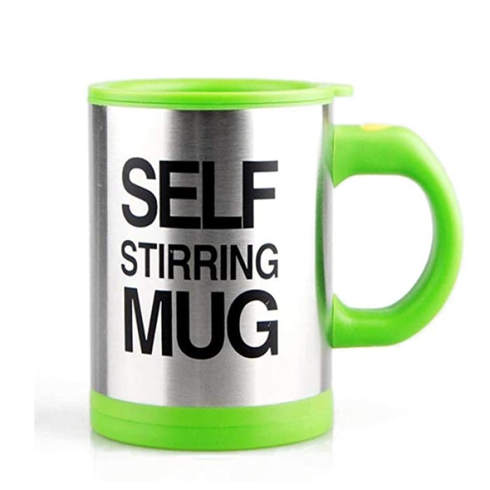 Self Stirring Mug - Green / 1Pcs - Boutique