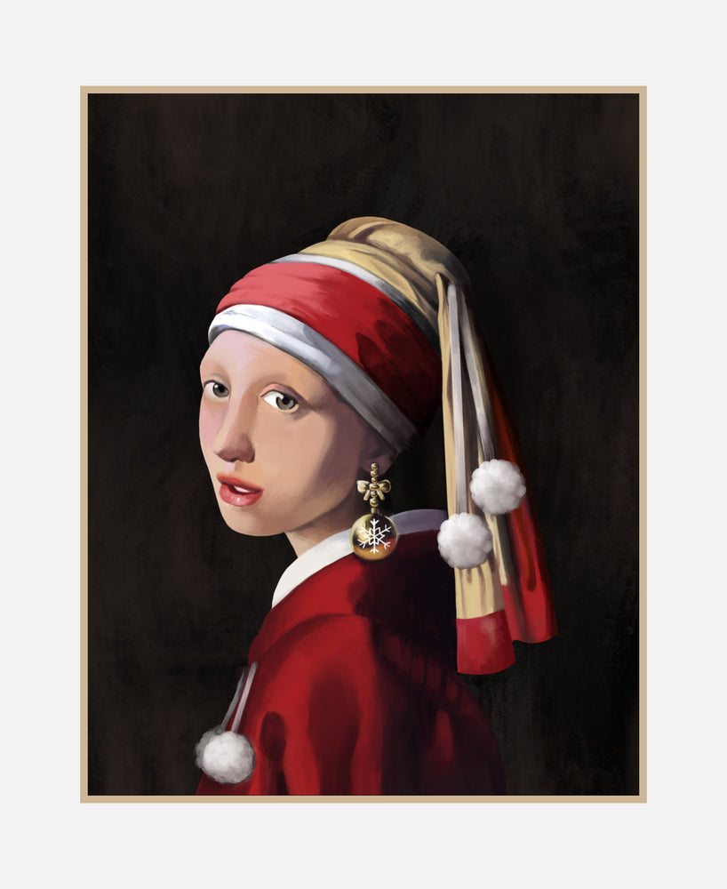 GIRL WITH AN ORNAMENT EARRING