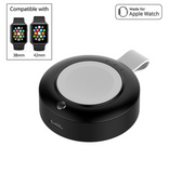 Wireless Charging 2-in-1 Portable Power Source Magnetic Apple Watch Charger - qwerkyshed