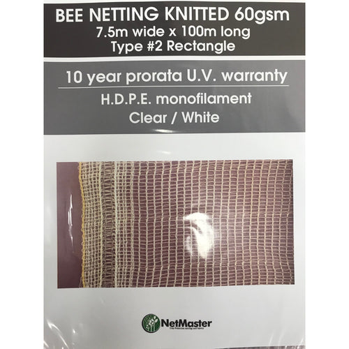 BEE NETTING KNITTED 60GSM