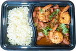 Cajun Shrimp and Red Beans