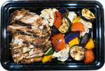 Moroccan Chicken and Rainbow Roasted Veggies