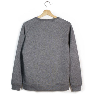 The Number 50 dark grey sweatshirt back