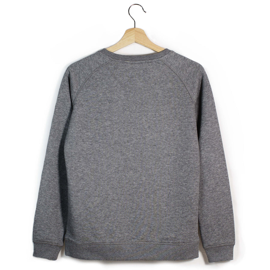 The Number 50 dark grey sweatshirt front