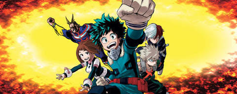 Boku no Hero Academia-story-anime