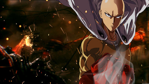 the strongest anime character-saitama-one punch man