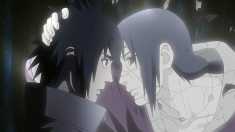 Itachi final words to sasuki
